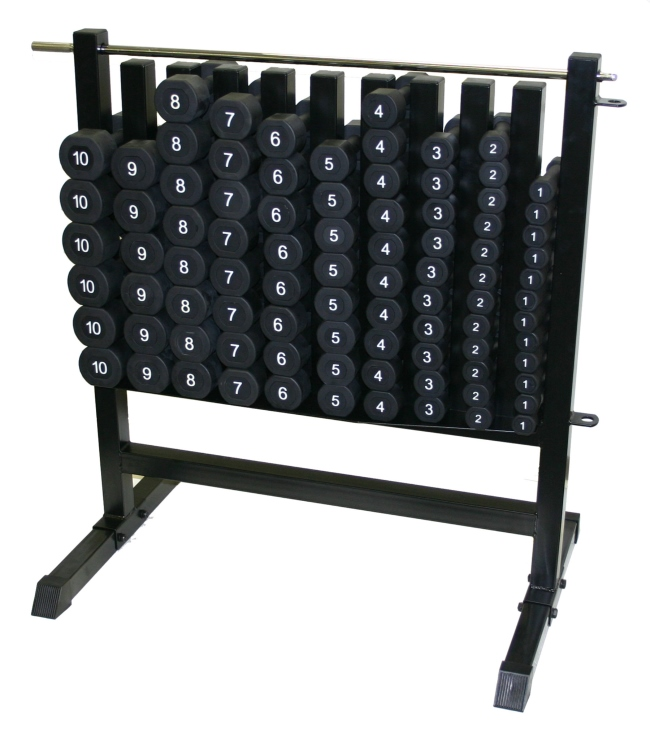 UMAX Aerobic Bell Dumbbell Rack Storage