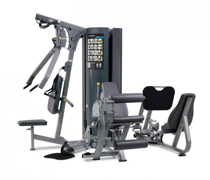 TRUE Fitness MP2.5 2-Weight Stack 4-Station Multi Gym