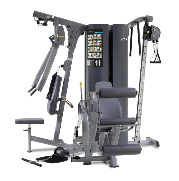 TRUE Fitness MP3.0 3-Weight Stack 4-Station Multi Gym