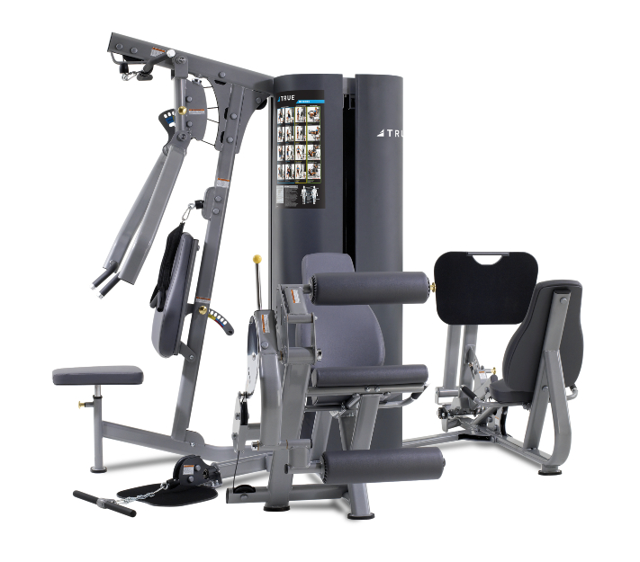 TRUE Fitness MP3.5 3-Weight Stack 4-Station Multi Gym