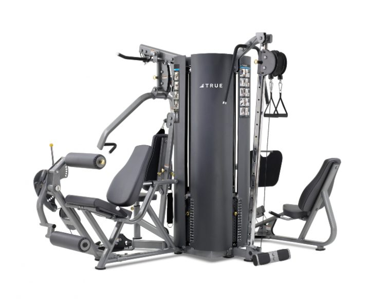 TRUE Fitness MP4.0 4-Weight Stack 5-Station Multi Gym