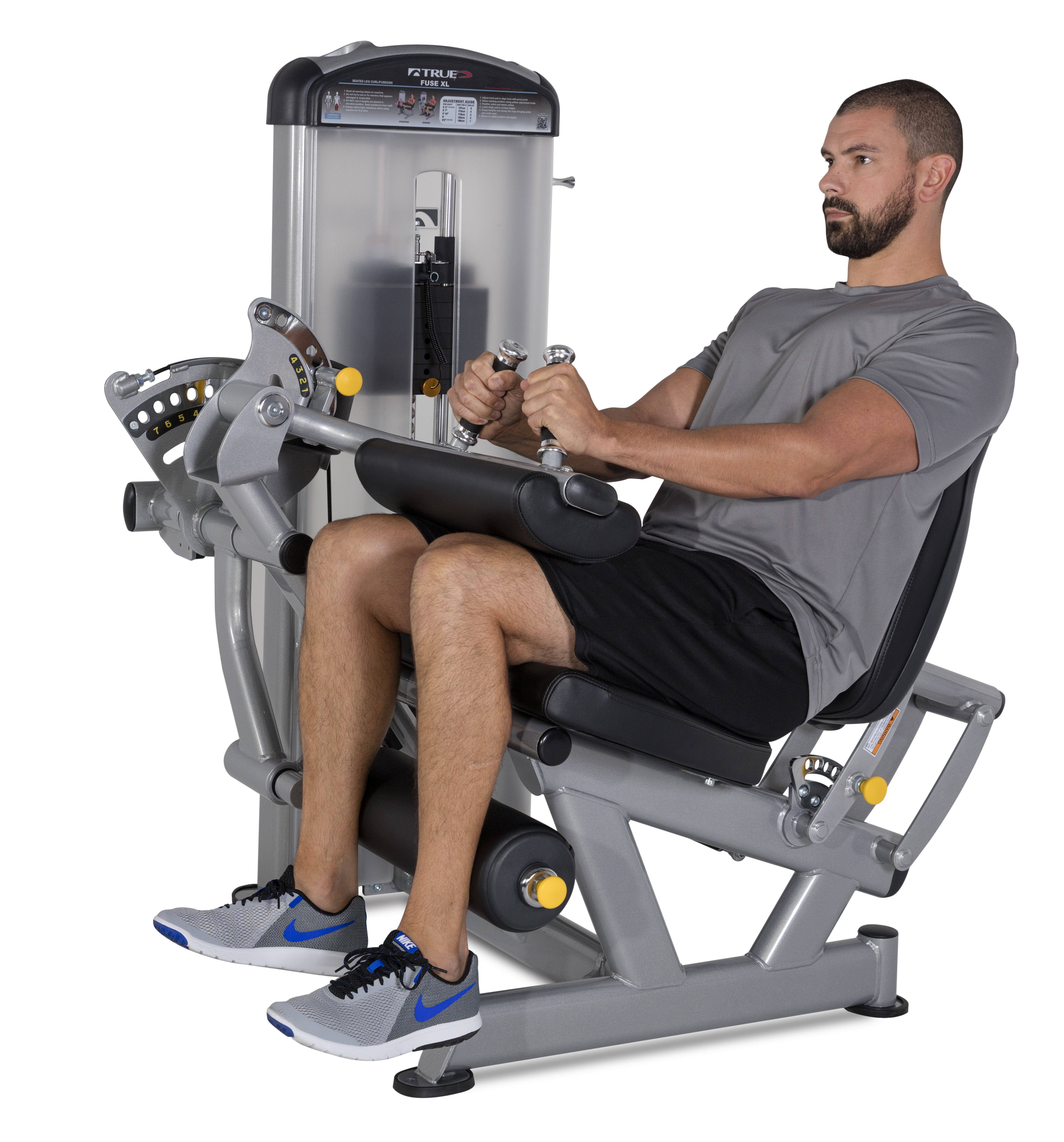 Paramount FUSE XL 0200 Seated Leg Curl – Tower Fitness Equipment