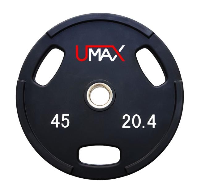 UMAX Series Premium Urethane Olympic Grip Bumper Plates