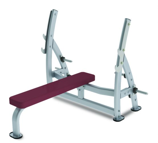 Paramount XFW 7100 Supine Press Bench with Plate Holders