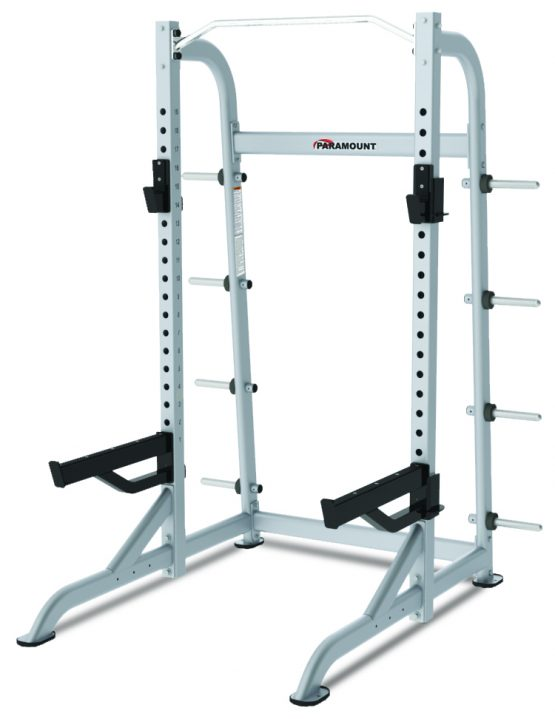 Paramount XFW 8100 Half Rack with Plate Holders