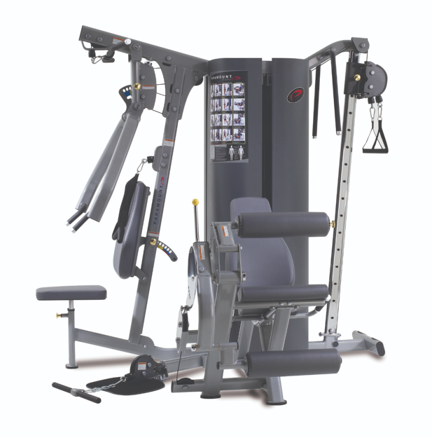 Paramount Mp 3 0 3 Weight Stack 4 Station Gym Tower