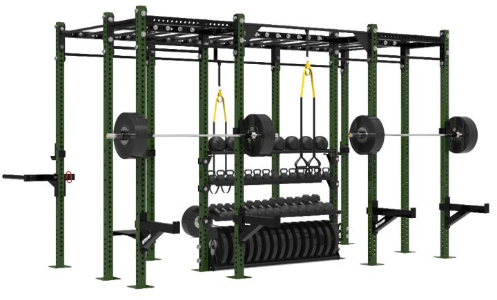 Dynamic Fitness 14' Training Rig