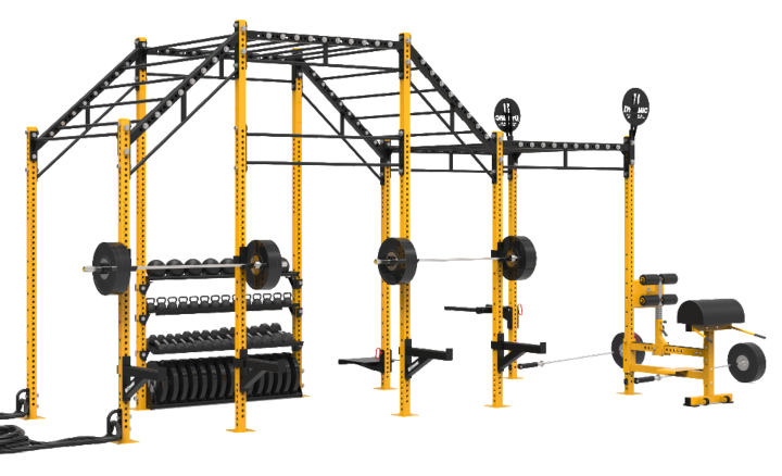 Dynamic Fitness 20' Incline Monkey Rig