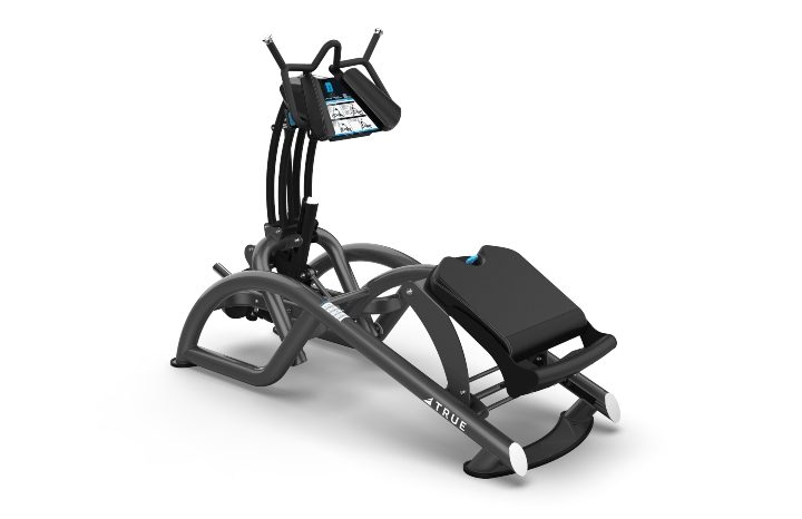 TRUE Fitness Composite Line Ab Crunch Back Row Trainer