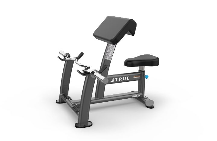 TRUE Fitness XFW5000 Preacher Curl Bench