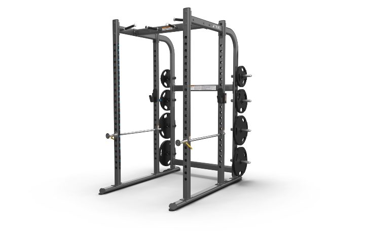 TRUE Fitness XFW7900 Power Rack with Plate Holders