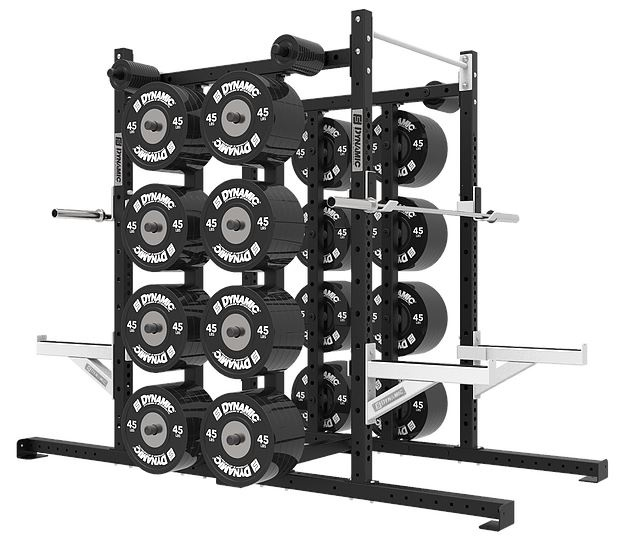 Dynamic Fitness Titan G2 Double Half Rack