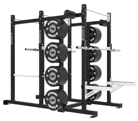 Dynamic Fitness Titan G2 Power Half Rack