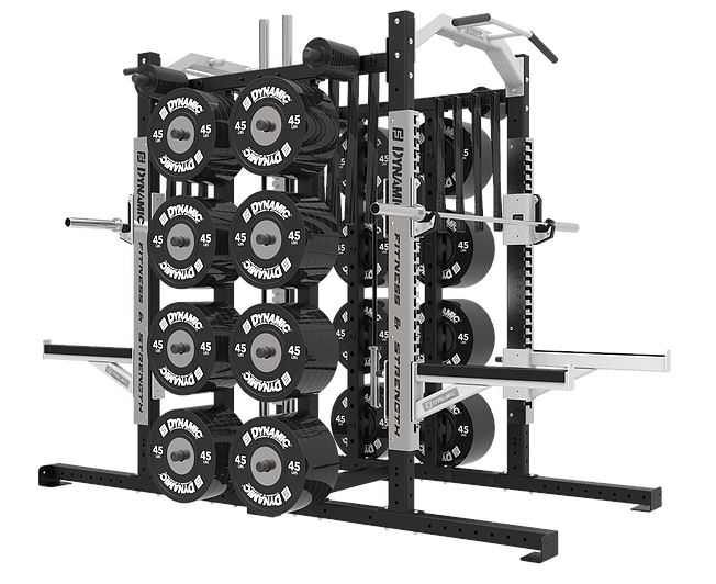 Dynamic Fitness Ultra Pro Double Half Rack Combo