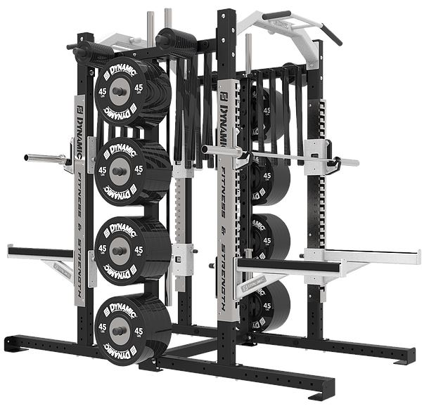 Dynamic Fitness Ultra Pro Double Half Rack