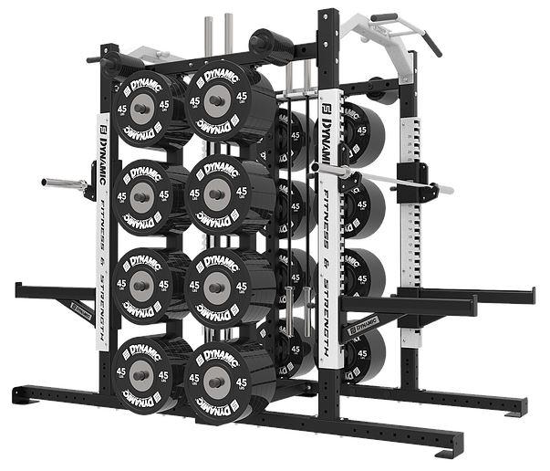 Dynamic Fitness Ultra Pro G2 Double Half Rack