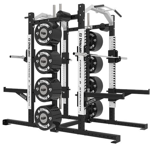 Dynamic Fitness Ultra Pro G2 Double Half Rack