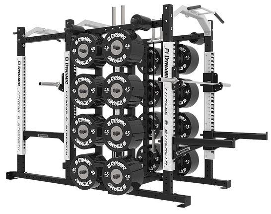 Dynamic Fitness Ultra Pro G2 Power Half Rack Combo