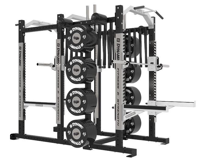 Dynamic Fitness Ultra Pro Power Half Rack