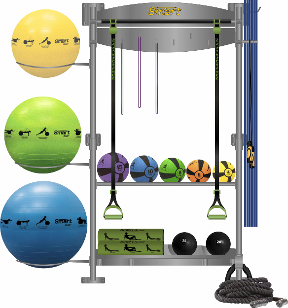 Prism Fitness Smart Functional Training Center Storage Solution