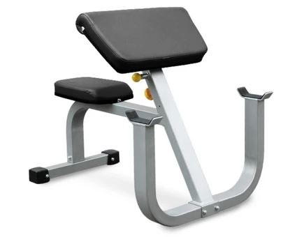 Vo3 Seated Preacher Curl Bench