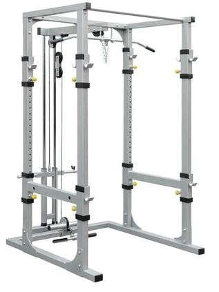 Vo3 Impulse Series Lat/Low Row Attachment for Power Cage/Power Rack
