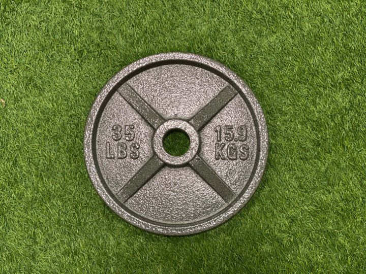 Vo3 Cast Iron Olympic Plates