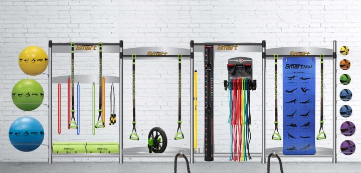 Prism Fitness Smart Functional Trainer Centre Storage