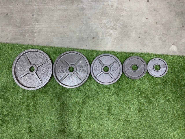 Vo3 Cast Iron Olympic Plate